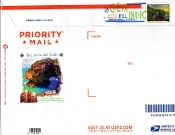 Panda Cachet Priority Mail $6.45 Envelope DCP Color