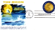 $1.20 Moon Single R/C Cancel Panda Cachet