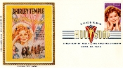 Shirley Temple Colorano Cachet '85 LA ASDA Stamp Show DCP