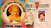 Shirley Temple Therome Cachet Legends of Hollywood DCP