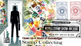 World Stamp Show NY 2016 Therome Cachet R/C
