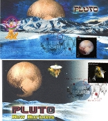 Pluto Explored Therome Cachet Set of 2 Singles DCP