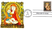 Florentine Madonna & Child Panda Cachet First Day Cover M/C