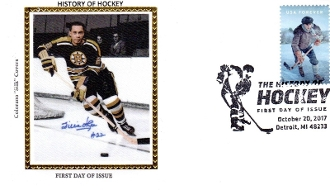 History of Hockey Legends Willie O'Ree Signed Colorano Silk FDC